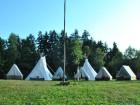 Tábor v sobotu.