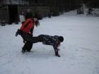 Hrátky na sněhu - lehkoatleticka disciplina trakař