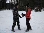 Hrátky na sněhu - boj face to face